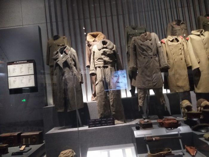 日军过冬的军服